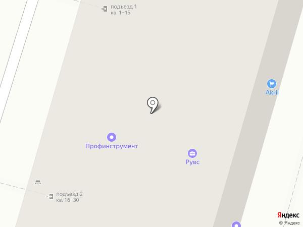 Автобан на карте Пензы