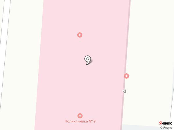 Городская поликлиника, ГБУЗ на карте Пензы