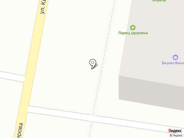 Ларец здоровья на карте Пензы