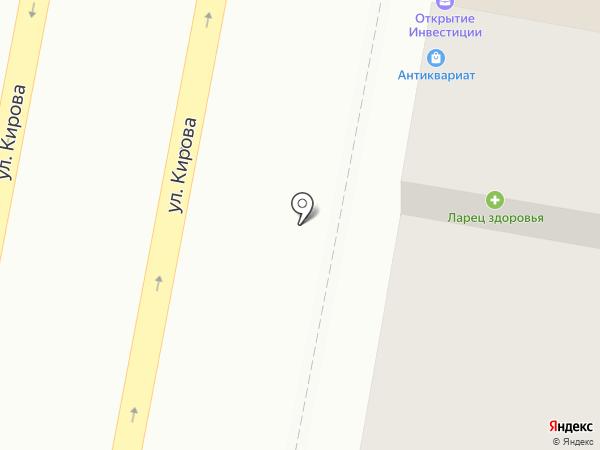Антикварный на Троицкой на карте Пензы