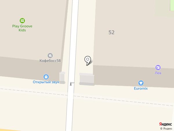 Юридическая компания на карте Пензы