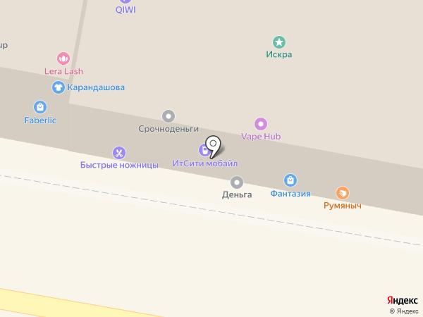 Сеть салонов на карте Пензы