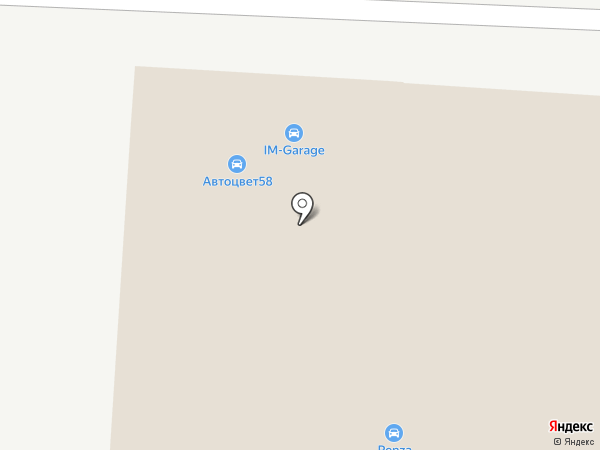 Вмятин.нет на карте Пензы