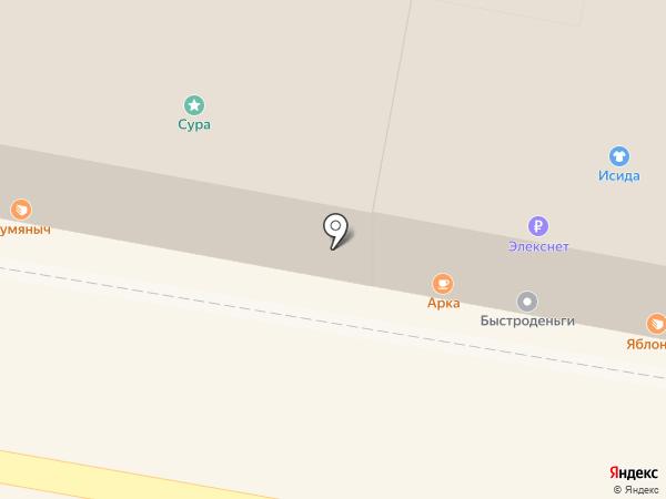 Быстроденьги на карте Пензы