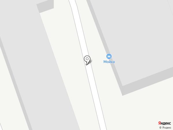 Пункт замены автомасла на карте Пензы