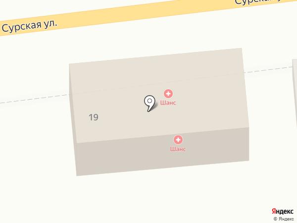 Адвокатский кабинет Лукидис М.Н. на карте Пензы