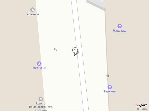 Тарханы КМВ на карте Пензы