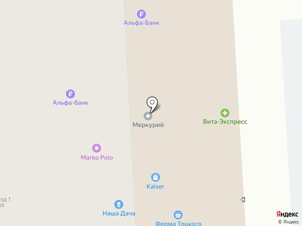 101 Радость на карте Пензы