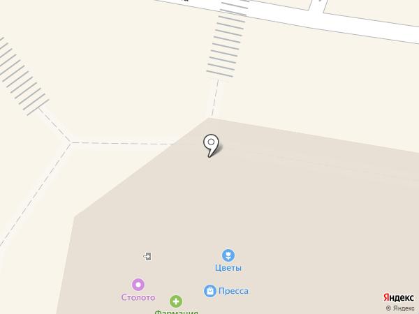 Цветочный салон на карте Пензы