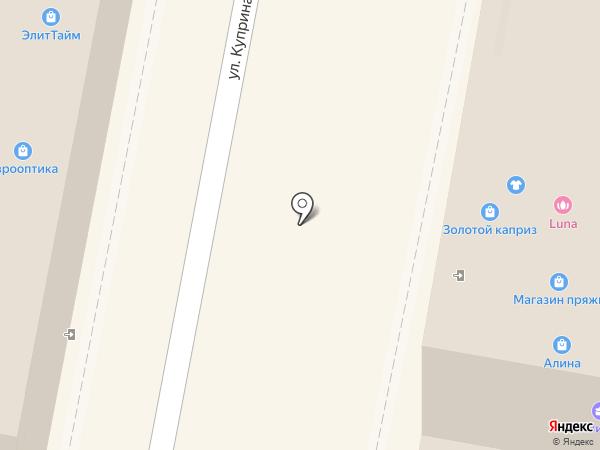 Irisk professional на карте Пензы