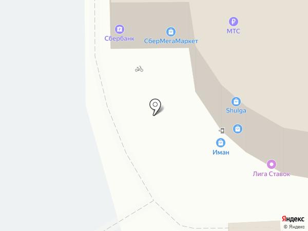 Мята на карте Засечного