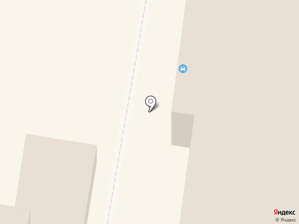 Упак на карте Пензы