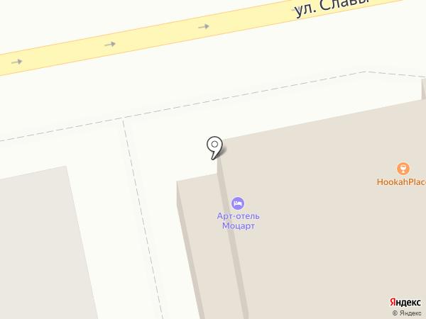 Хука Плэйс на карте Пензы