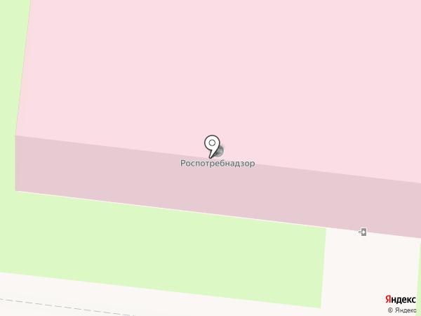 Куйбышевский территориальный отдел Управления Федеральной службы по надзору в сфере защиты прав потребителей и благополучия человека по железнодорожному транспорту на карте Пензы