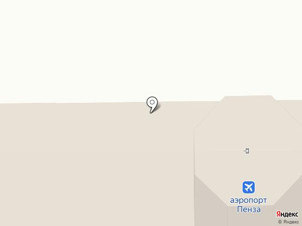 Туристско-информационный центр на карте Пензы