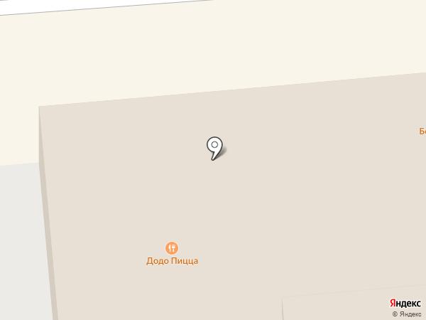 Оса на карте Пензы
