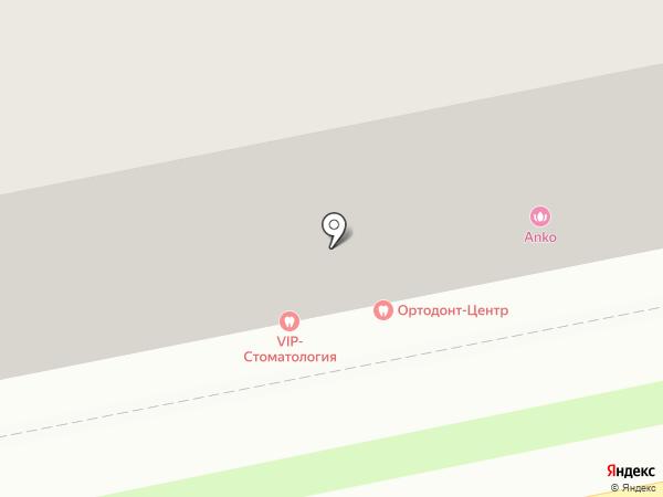 Локон на карте Пензы