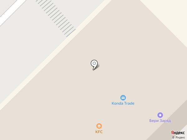 Конда-Трейд на карте Пензы