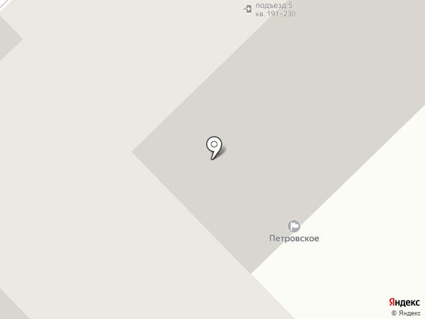 Петровское, ТСЖ на карте Пензы
