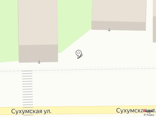 Бумеранг на карте Пензы