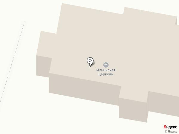 Храм Святого пророка Илии на карте Бессоновки