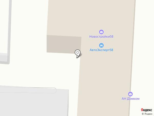 Авто-профи на карте Пензы
