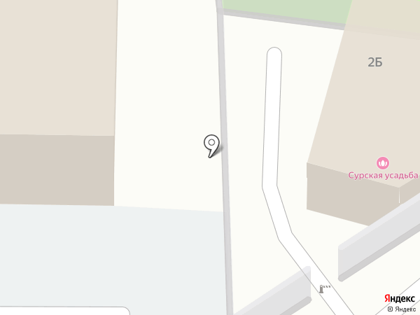 Галеон на карте Пензы