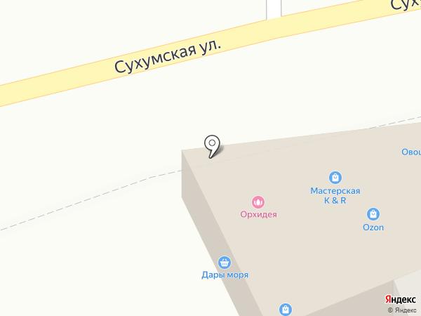 Орхидея на карте Пензы