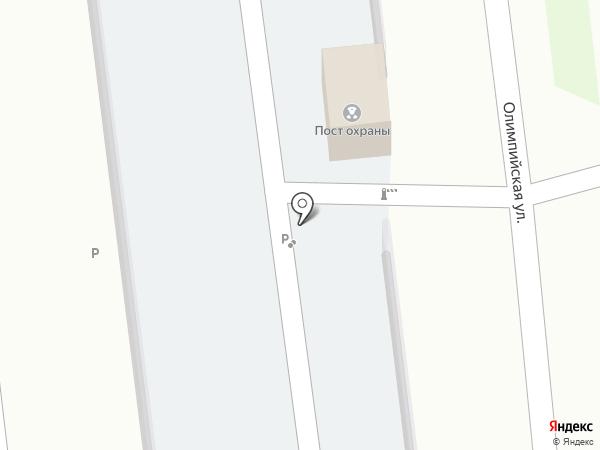 Автостоянка на карте Засечного