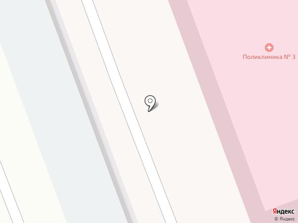 Термодом на карте Засечного