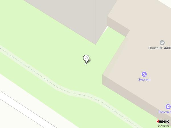 Почтовое отделение №7 на карте Пензы