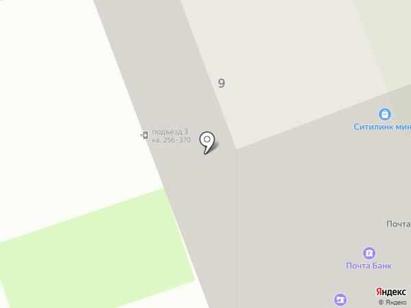 Грифон на карте Засечного