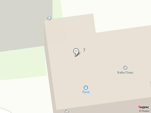 Продуктовый магазин на Лунной на карте Засечного