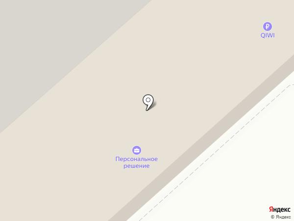 Караван на карте Засечного