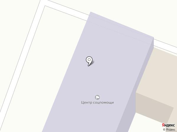 Бессоновский комплексный центр социальной помощи семье и детям, МБУ на карте Бессоновки