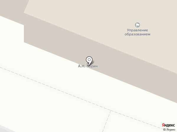 Управление образования Бессоновского района на карте Бессоновки