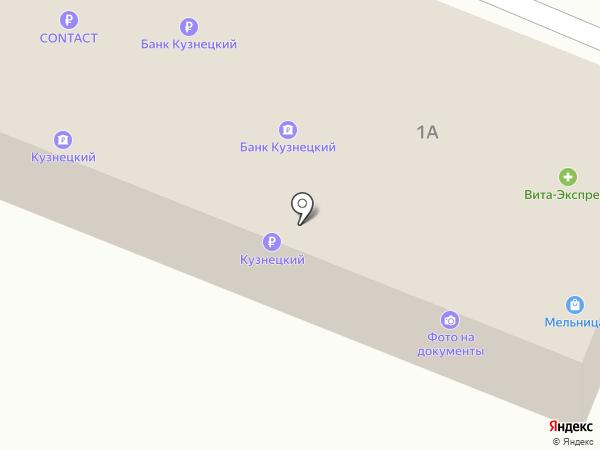 Мегабайт на карте Бессоновки