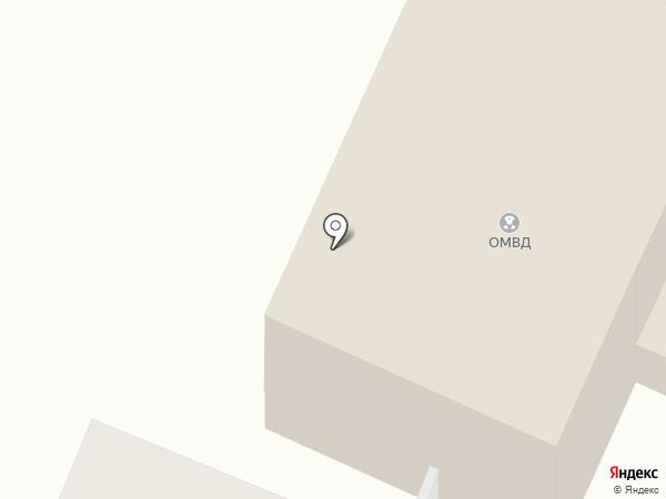 Участковый пункт полиции на карте Бессоновки