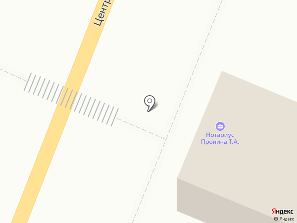Нотариус Пронина Т.А. на карте Бессоновки
