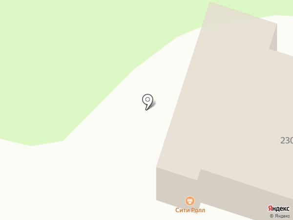 Центральный на карте Бессоновки