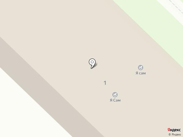 Индиго на карте Засечного