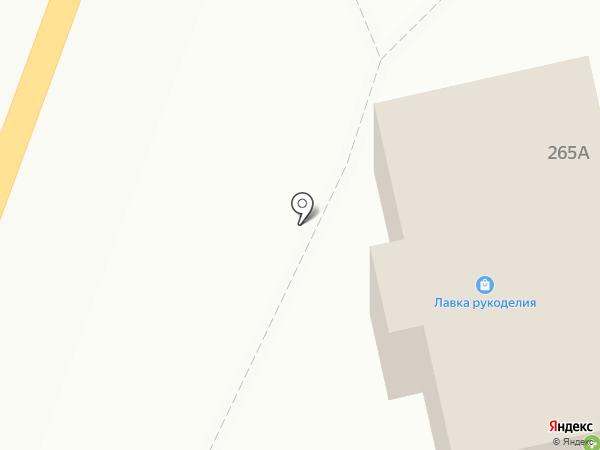 Лина на карте Бессоновки