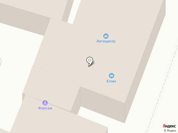 Все для Авто на карте Бессоновки