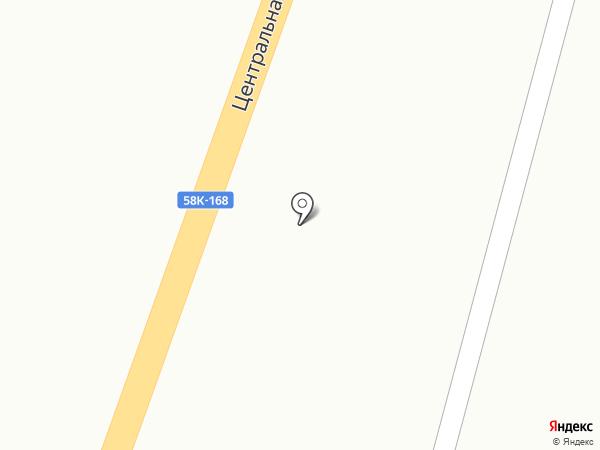 У перекрестка на карте Бессоновки