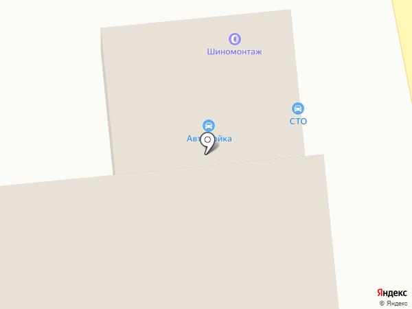 Автокомплекс на Крымской на карте Пензы
