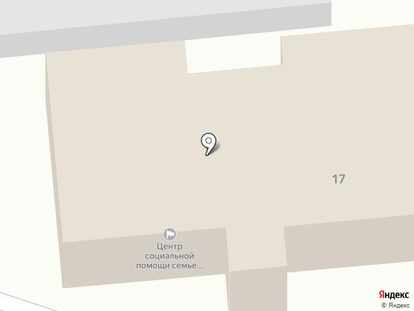 Центр социальной помощи семье и детям, МБУ на карте Пензы