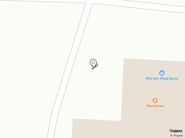 Распутин на карте Пензы