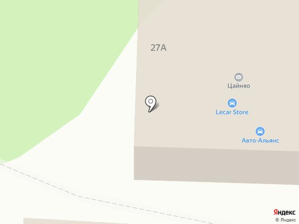 Авто Альянс на карте Пензы