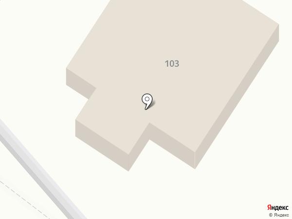 Спортивно-технический центр Бессоновского района регионального отделения ДОСААФ России Пензенской области, ПОУ на карте Бессоновки