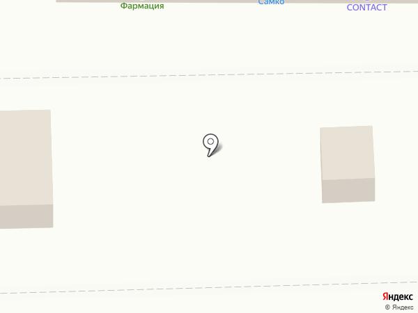 Белые росы, СПК на карте Пензы